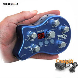 Wholesale NEW MOOER POGO Portable Effect Pedal True bypass Effect Pedal
