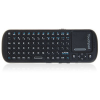 Wholesale KP Mini Smart Remote for PC Android TV GHz Wireless Keyboard and Touchpad Black