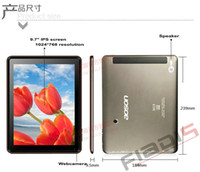 Wholesale 9 quot Aoson m19 Android tablet pc RAM GB ROM GB G wifi dual MP camera IPS capacitive