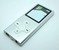 Wholesale Free DHL Real GB digital MP3 MP4 Player screen mp3 songs Video Speaker FM Game