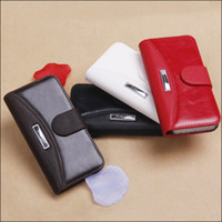 Wholesale FREE CN PU Case Cover for iPhone G wallet leather case for iPhone5 mobile phone case