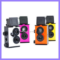Wholesale DIY mm Film Recesky Twin Lens Reflex Camera Vo LOMO camera Christmas gift for kids