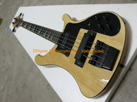 Wholesale New Arrival Natural Strings Electric Bass Black Hardware High Quality Cheap