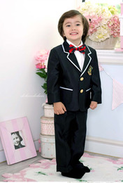 Wholesale New fashion Boys Attire Boy Wedding Suit kid suits formal wear dress Complete Designer Tuxedos B113