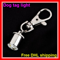 Wholesale Good Quality Pet Dog Cat Flasher Blinker LED Light Tag red blue white