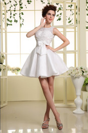 Wholesale The Newest Coctail Dresses Bows lace Homecoming Dresses