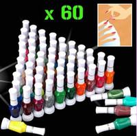 Pinks nail art pen - AK011 color way nail art polish with brush pen varnish