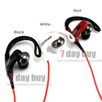 Yes In-Ear 3.5mm Sport Earphone Athlete Stylish Power Super Bass Metal Ear phone with Bendable Ear Hook, UV coating Headphone
