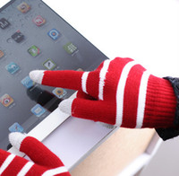 Wholesale Touchscreen Gloves with Conductive Fingertips for Use with All Touchscreen Electronic Devices