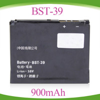 Wholesale BST bst39 Battery for Sony Ericsson TM717 W380 W518a W908c W910 W910i Z555i