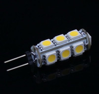Wholesale G4 W Lumen SMD LED Light K Warm White LED Bulb Lamp Spotlight DC V