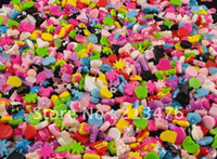apple scrapbooking - 100PCS many styles and colors resin of the Flat back the Scrapbooking DIY Craft