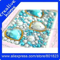 apple jewelery - Cell phone jewelry sticker Acrylic jewelery set mm