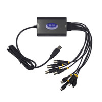 Wholesale Video Audio Capture Box Card Adapter Channel Grabber Quad CCTV USB DVR Card