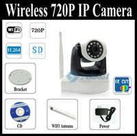 Wholesale New Arrival H amp MJPEG PTZ P IP Video Record CCTV Camera Support Wifi Mobile Phone view
