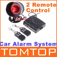 Wholesale Car alarm security system Way Car Alarm Protection System with Remote Control auto burglar alarm
