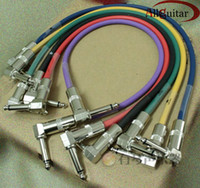 Wholesale Guitar effects Cable Style Colorful ft Shielded Cable mm male to mm male plug