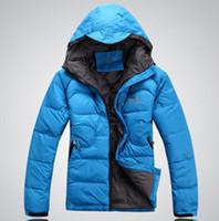 Wholesale New Men s Brand winter fashion Outdoor waterproof even cap down jacket Coat