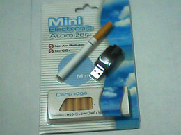 Wholesale hot set Mini Electronic Cigarette with Refill E cigarette with USB adaptor Mint many flavors