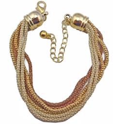 European Style Multilayer Enamel Snake Chain Bracelet Unisex jewelry