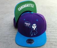 Wholesale 9color Gangnam style snapbacks caps popular hats snap backs hats cap rock dancing hat
