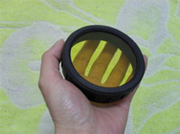 Wholesale HID Filter lens for HID flashing lght Three colors Red Blue Yellow