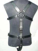 leather body harness - Quality leather Bondage Body Harness Adult Leather systemic Set