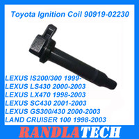 Wholesale High quality Toyota Ignition Coil LEXUS Ignition Coil DENSO parts DENSO IGNITION COIL