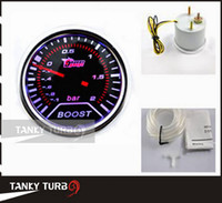 Wholesale Tansky quot mm Turbo Boost Gauge BAR LED auto meter auto gauge car meter TK TT