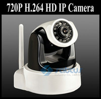 Wholesale 2012 New Arrival P IP Camera H HD megapixel Wireless IP Camera with IR Cut and SD Card Slot