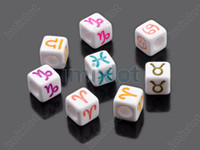 Wholesale Plastic Alphabets letter Beads Spacer Acrylic Beads Fit DIY Handcraft Multicolor F306