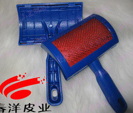 Wool professional care brush steel brush