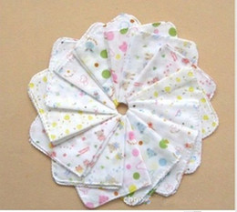 Wholesale Baby bath towels baby face towel baby feeding towel high density handkerchief cm