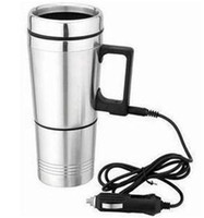 car boiling water ceramic cup hot water heater - car electric double node design hot water heater car boiling water cup