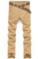 Wholesale New Men s Jeans Classic Denim Straight Trousers Men Cotton Slim Leisure Casual Jean