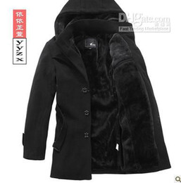 Wholesale New arrival Men s Plus thick coat Korean Slim stylish Men s Overcoat casual Winter Coat Outerwear