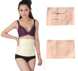 Wholesale The enhanced bellyband stay lace postnatal repair Maternal Girdles color