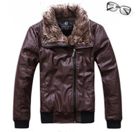 Wholesale men s Thick warm add wool jacket men s slim jacket men s outwear clothing size M XXXL