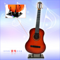 Wholesale Tuba can play simulation guitar instrumental music box creative gifts guitar music box