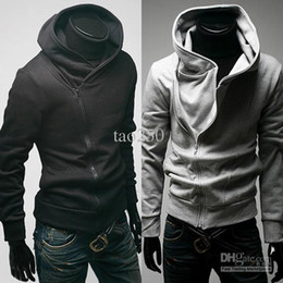 Wholesale Men Casual Zip Up Hoodie Jacket Sweatshirt Size Colour
