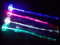 Wholesale Mix colors Red Green Blue White LED fiber braids flash braids hairpin Fit dance bar Diba
