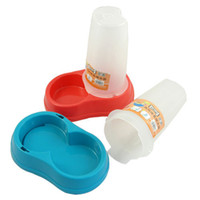 Wholesale Dual type feeder autodrinker feeder bowl dog bowl Small