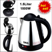 Wholesale SKG Liter Electric Kettle Jug Cordless Fast Boil Stainless Steel S1504A
