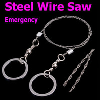 Wholesale Steel Wire Saw for Emergency Camping Hunting Survival Tools