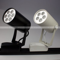 Wholesale 5 w LED track light tracklight AC85 V CE amp ROHS lm white Warm white year warranty