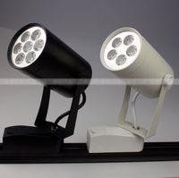 Wholesale 5 w LED track light tracklight AC85 V CE amp ROHS lm white Warm white year warranty