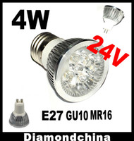 Wholesale Sample DC V W Led Bulb E27 Spotlight GU10 Led W Light Bulb MR16 led light