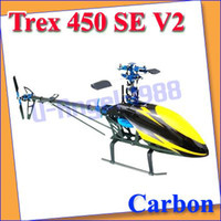 Airplanes airplane kit rc - Trex V2 ARF Carbon RC Helicopter Metal Upgrade KIT