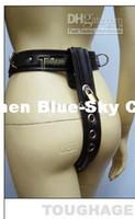 female chastity belt - New Comfortable TOUGHAGE Model T Female Adjustable leather Chastity Belt device bondage hand belt