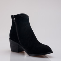 Women Black Wedges 2012 Newfashion women boots!Hot sale lady high shoes with 4.5cm heel Cheap leather shoes with Zipper